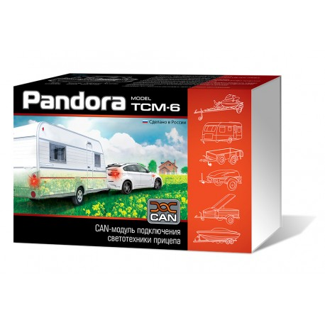 Pandora TCM-6 CAN-модуль