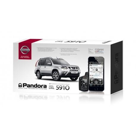 Автомобильная сигнализация Pandora DXL 5910